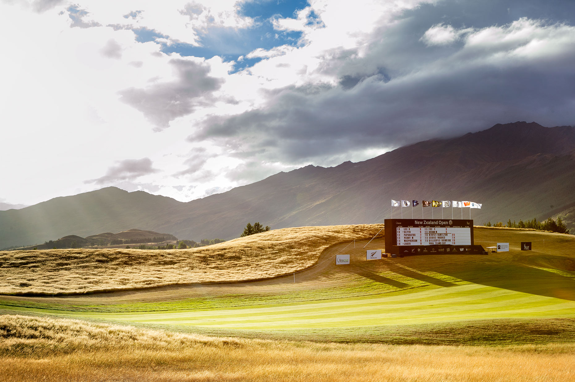 NZ Golf Open Michael Hill