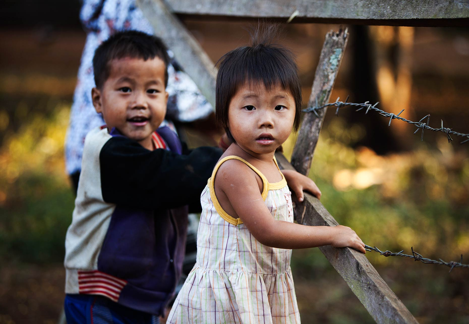 Hmong children Laos